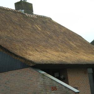 Wanneperveen-Riet-dak-repareren
