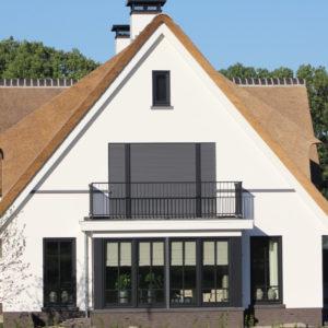 Rieten dak Genemuiden