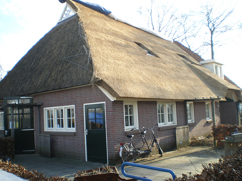 Rieten dak staphorst rietdekkersbedrijf kloosterman van raalte