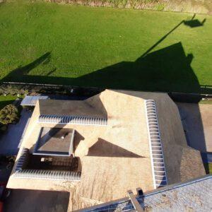 Rieten dak vervangen Lemelerveld 1
