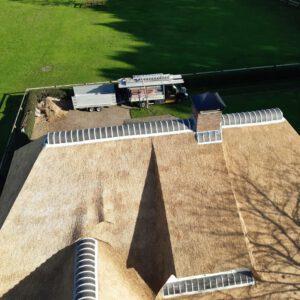 Rieten dak vervangen Lemelerveld 2