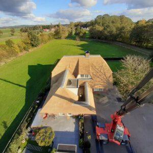 Rieten dak vervangen Lemelerveld 3