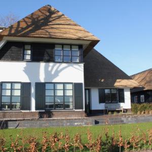 Rietdekker Elburg villa