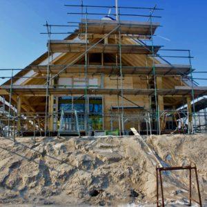 Drontermeer zicht nieuwbouw bitendijks in Kampen