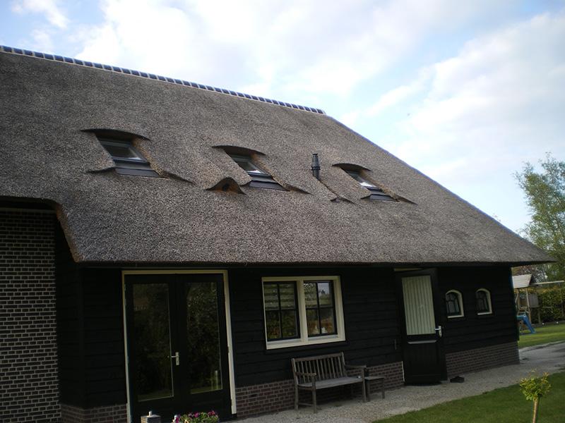 Rieten dak in giethoorn rietdekkersbedrijf kloosterman van raalte